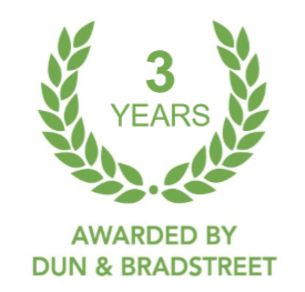 Certificate of Achievement – DUN & BRADSTREET