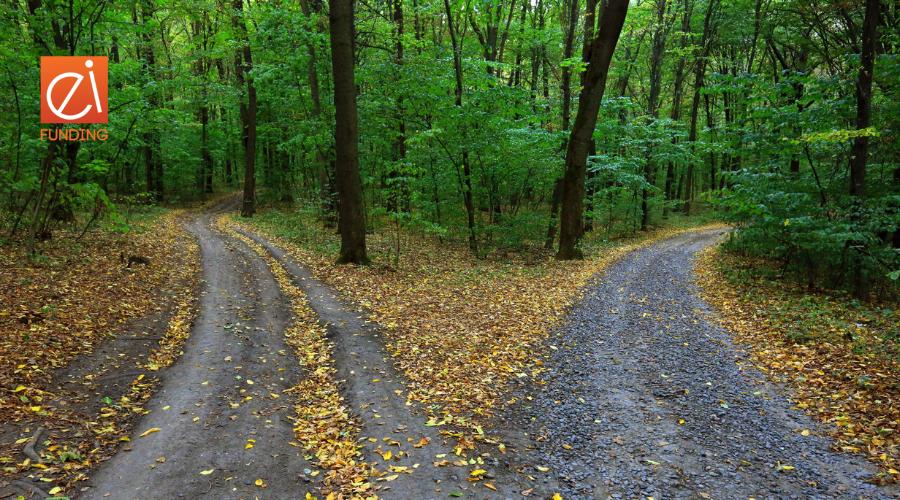 EI two roads