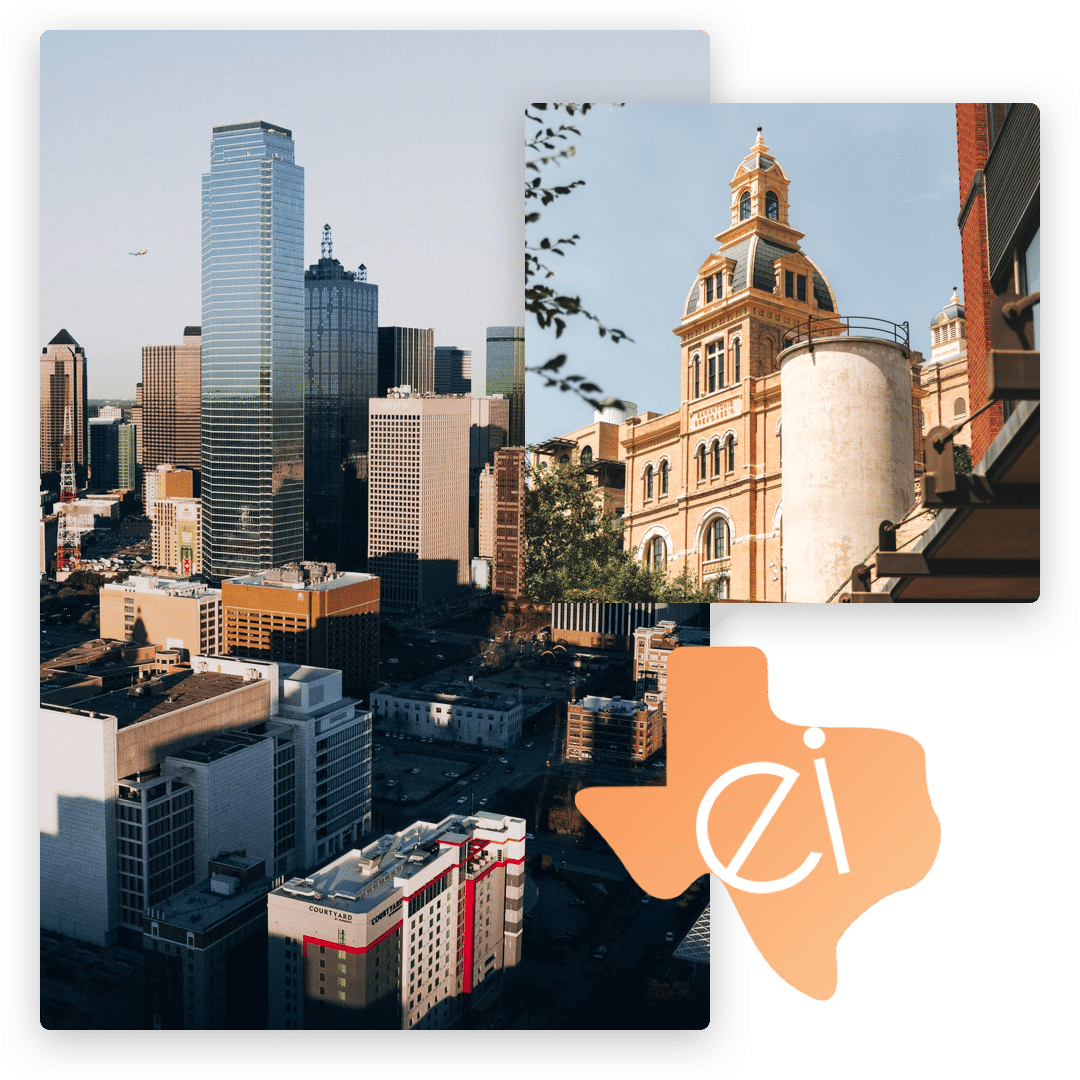 ei funding texas major cities collage